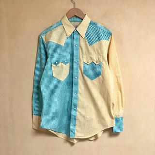 美品 SUGER CANE / シュガーケーン ウエスタンチェックシャツ M
