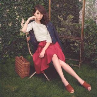 リランドチュール(Rirandture)のリラ♡ アシメカラースカート(ひざ丈スカート)