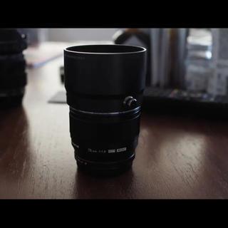 オリンパス(OLYMPUS)のm.zuiko degital ed 75mm f1.8  オリンパス(レンズ(単焦点))