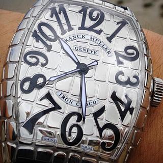 フランクミュラー(FRANCK MULLER)のFRANCK MULLER フランクミュラー アイアンクロコ 184万円購入(腕時計)