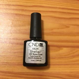 シーエヌディー(CND)の【Shellac】CND シェラック♡ベースコート 7.3ml(カラージェル)