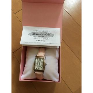 アレッサンドラオーラ(ALESSANdRA OLLA)のalessandra olla 腕時計 ピンク(腕時計)