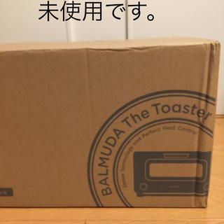 バルミューダ(BALMUDA)のバルミューダ Theトースター  K01E-KG  ブラック 開梱済み(調理機器)