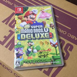 ニンテンドースイッチ(Nintendo Switch)のswitch スーパーマリオブラザーズU DELUX (家庭用ゲームソフト)