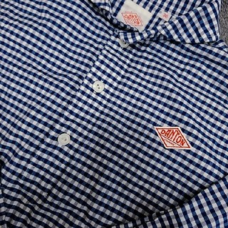 ダントン(DANTON)のDANTONダントン 長袖チェックシャツ(Tシャツ(長袖/七分))
