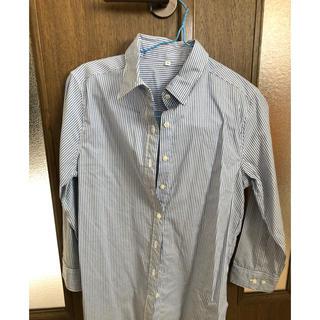 ムジルシリョウヒン(MUJI (無印良品))の値下げ可能 無印 ストライプシャツ(シャツ/ブラウス(長袖/七分))