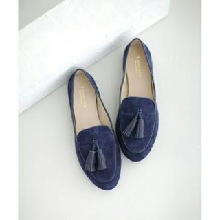 ナノユニバース(nano・universe)のナノユニバース タッセル ローファー フラットシューズ ぺたんこ靴 スエード(ローファー/革靴)