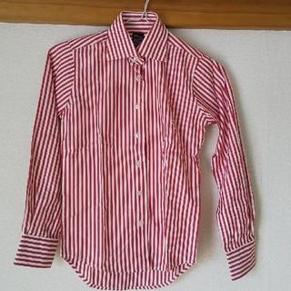 グラニフ(Graniph)のgraniph 赤白ボーダーシャツ 未使用品♪(シャツ/ブラウス(長袖/七分))
