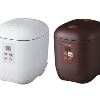 コイズミ(KOIZUMI)のコイズミ ライスクッカーミニ ホワイト KSC-1512/W(炊飯器)