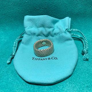ティファニー(Tiffany & Co.)のティファニーサマセットシルバーリング(リング(指輪))