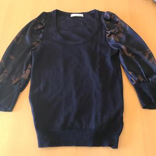 ガリャルダガランテ(GALLARDA GALANTE)の七分袖ニット(ニット/セーター)