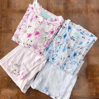 トロイ(TOROY)のTOROY 薄手 パジャマ 色違い2枚セット(パジャマ)