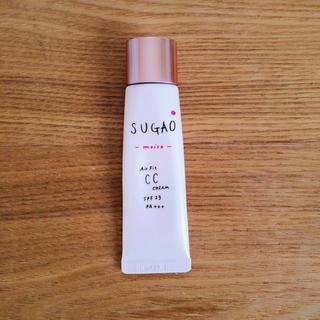 ロートセイヤク(ロート製薬)のsugao⁂エアーフィットCCクリームモイスト(02ピュアオークル)(BBクリーム)