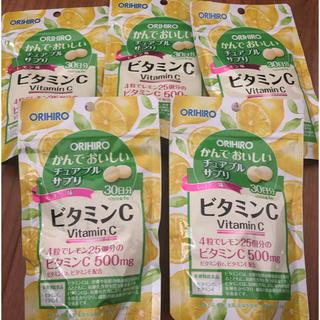 オリヒロ(ORIHIRO)のかんでおいしい ビタミンc(ビタミン)