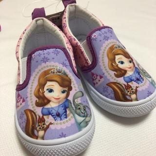 ディズニー(Disney)の【新品】ソフィア スリッポン 14cm(スリッポン)