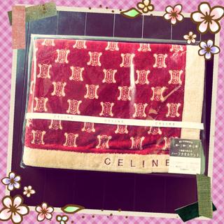 celine - 新品 CELINE ハーフタオルケット