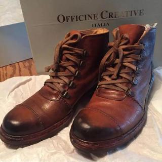 ネストローブ(nest Robe)のOFFICINE CREATIVE 革靴 レザー ブーツ (ブーツ)