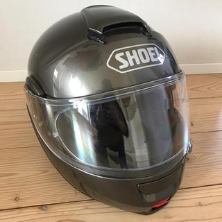ショウエイシャ(翔泳社)のSHOEI NEOTEC ヘルメット アンスラサイトメタリックLサイズ 59cm(ヘルメット/シールド)
