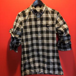 クリスヴァンアッシュ(KRIS VAN ASSCHE)のクリスヴァンアッシュ ラメチェック 7分シャツ(シャツ)