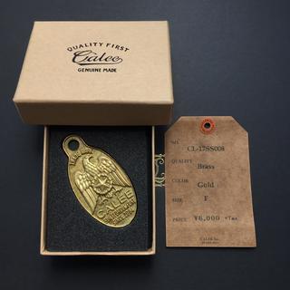 キャリー(CALEE)の定価6480円!完売 Calee キーホルダー 17SS イーグル 真鍮 完品(キーホルダー)