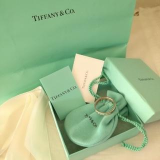 ティファニー(Tiffany & Co.)のティファニー 1837 ナローリング シルバー925 大きいサイズ(リング(指輪))