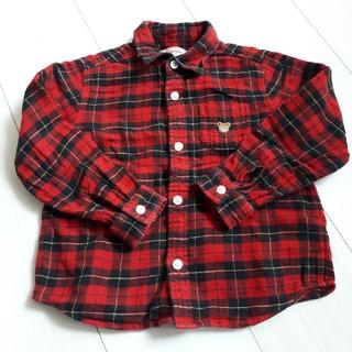 ミキハウス(mikihouse)のミキハウス Original チェックネルシャツ(ジャケット/上着)