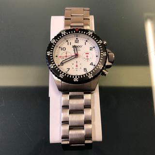 ジッポー(ZIPPO)のzippo クロノグラフ 腕時計 ジッポー 新品 コレクション 白(腕時計(アナログ))