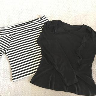 ジーユー(GU)のattanxxr様 専用 GU ⭐️ トップス オフショル フリル(Tシャツ(長袖/七分))