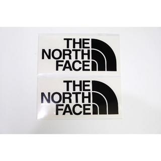 ザノースフェイス(THE NORTH FACE)のノースフェイス TNFカッティングステッカー ブラック2枚(ステッカー)