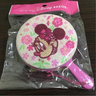 ディズニー(Disney)の【未使用】ディズニー☆ミニー☆手鏡(ミラー)