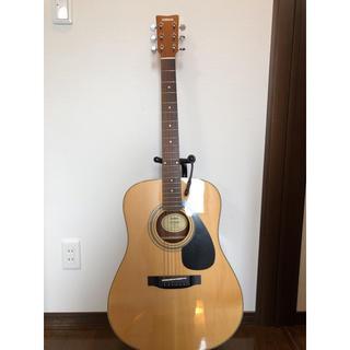 ヤマハ(ヤマハ)のf370dw アコースティックギター 送料込 ほぼ未使用 スタンド ケース有り(アコースティックギター)