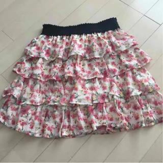 クランプリュス(KLEIN PLUS)のクランプリュス☆花柄スカート(ミニスカート)