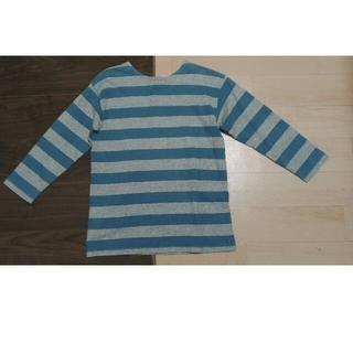 ウエアハウス(WAREHOUSE)のボーダーバスクシャツ warehouses duck diggerレディースにも(Tシャツ/カットソー(七分/長袖))