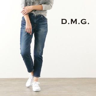 ディーエムジー(D.M.G)のD.M.G. ドミンゴ★ユーズド加工アンクルカットスリムパンツ M (デニム/ジーンズ)
