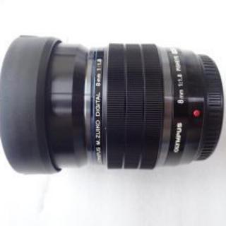 オリンパス(OLYMPUS)のOLYMPUS フィッシュアイ 8mm F1.8(レンズ(単焦点))