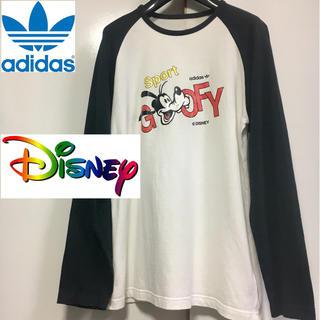 アディダス(adidas)のアディダスオリジナルス×Disney コラボ ロンT Mサイズ(Tシャツ/カットソー(七分/長袖))