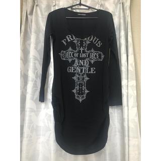 ゴーストオブハーレム(GHOST OF HARLEM)のブラック ロンT(Tシャツ(長袖/七分))
