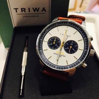 トリワ(TRIWA)の【新品・未使用】TRIWA NEVIL OCEAN(腕時計(アナログ))