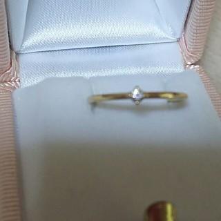 ココシュニック(COCOSHNIK)のココシュニック シンプルダイヤリング(リング(指輪))