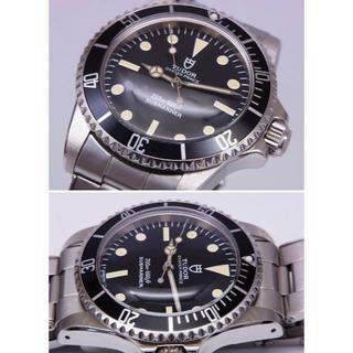 チュードル(Tudor)のチュードル サブマリーナ 盾マーク 自動巻 リベットブレス(腕時計(アナログ))
