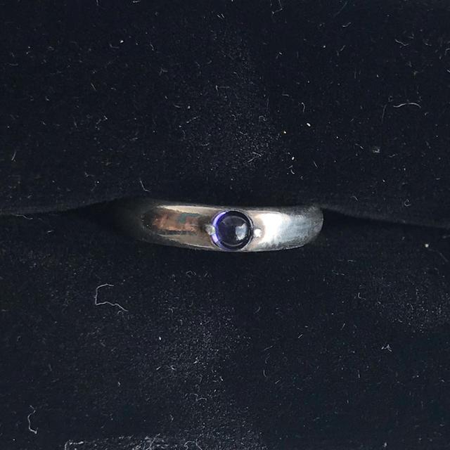 アメジストシルバーリング レディースのアクセサリー(リング(指輪))の商品写真