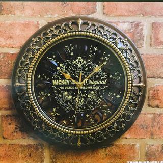 ディズニー(Disney)の90周年 アニバーサリー ディズニー 壁掛け時計(掛時計/柱時計)