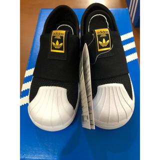 アディダス(adidas)のadidas メッシュ スリッポン  15cm(スリッポン)