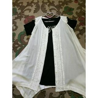 インゲボルグ(INGEBORG)の新品☆インゲボルクカットソーチュニック(Tシャツ(半袖/袖なし))