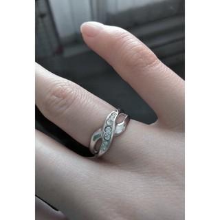 5号スワロフスキーピンキーリング(リング(指輪))