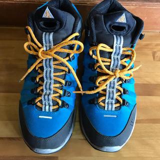 ナイキ(NIKE)のNIKE acg トレッキング ブルー×グレー27.5(登山用品)