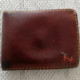 エンリーべグリン(HENRY BEGUELIN)のアンリークイール henry cuir 二つ折り財布(財布)