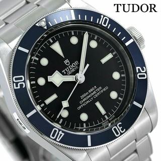 チュードル(Tudor)のTUDOR  41MM ダイバーズ 時計 79230B ブラック 腕時計(腕時計(アナログ))