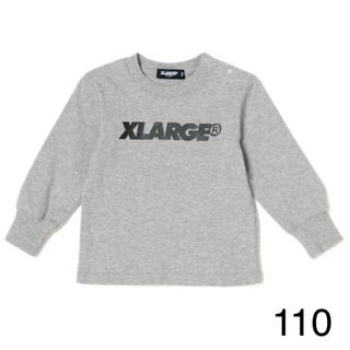 9894ec0a4e0b1 エクストララージ(XLARGE)の専用 エクストララージ キッズ 110 ロゴロンT グレー(T