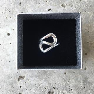 シルバー925変形デザインリング(リング(指輪))